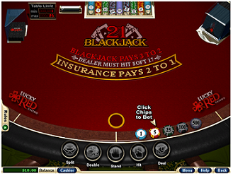 Lucky Red Blackjack